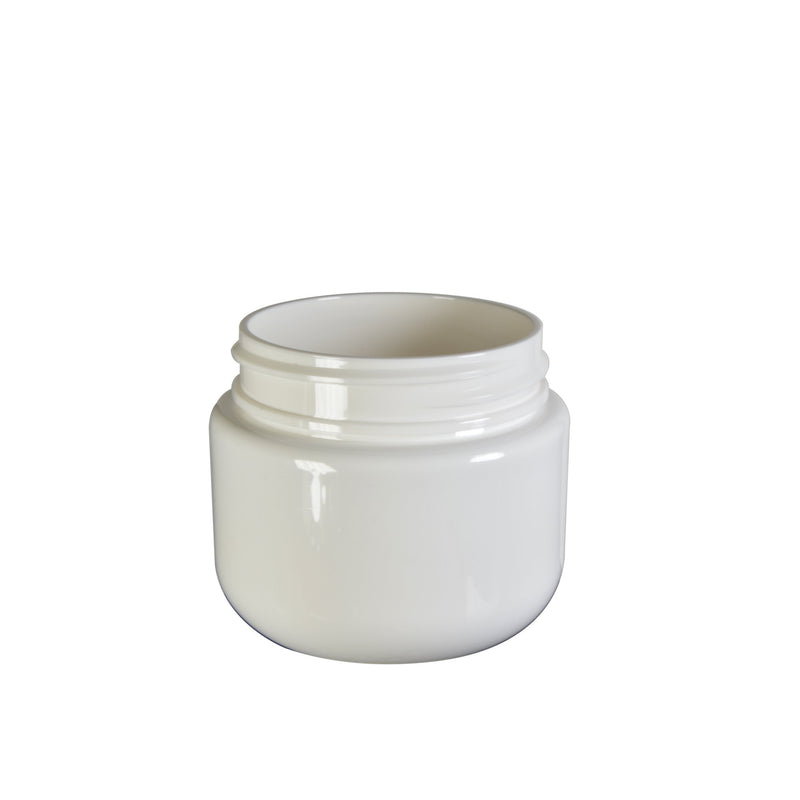 White Plastic Child Resistant Jar 30 Dram - 600 Count JAR ONLY
