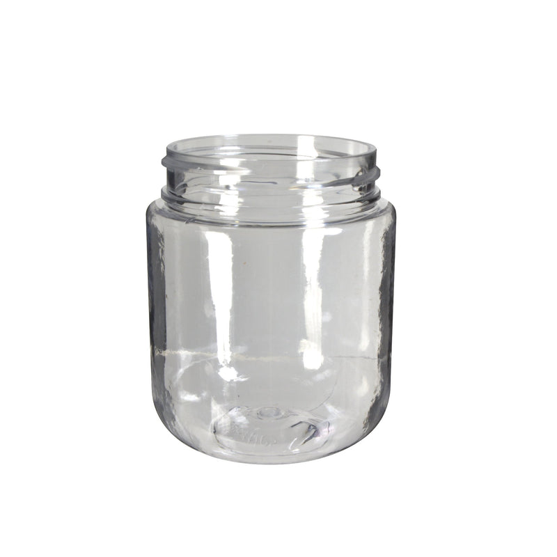 Clear Plastic Child Resistant Jar 40 Dram - 600 Count JAR ONLY