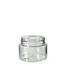 Clear Plastic Symmetric Child Resistant Jar 20 Dram - 600 Count