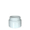 White Plastic Symmetric Child Resistant Jar 20 Dram - 600 Count