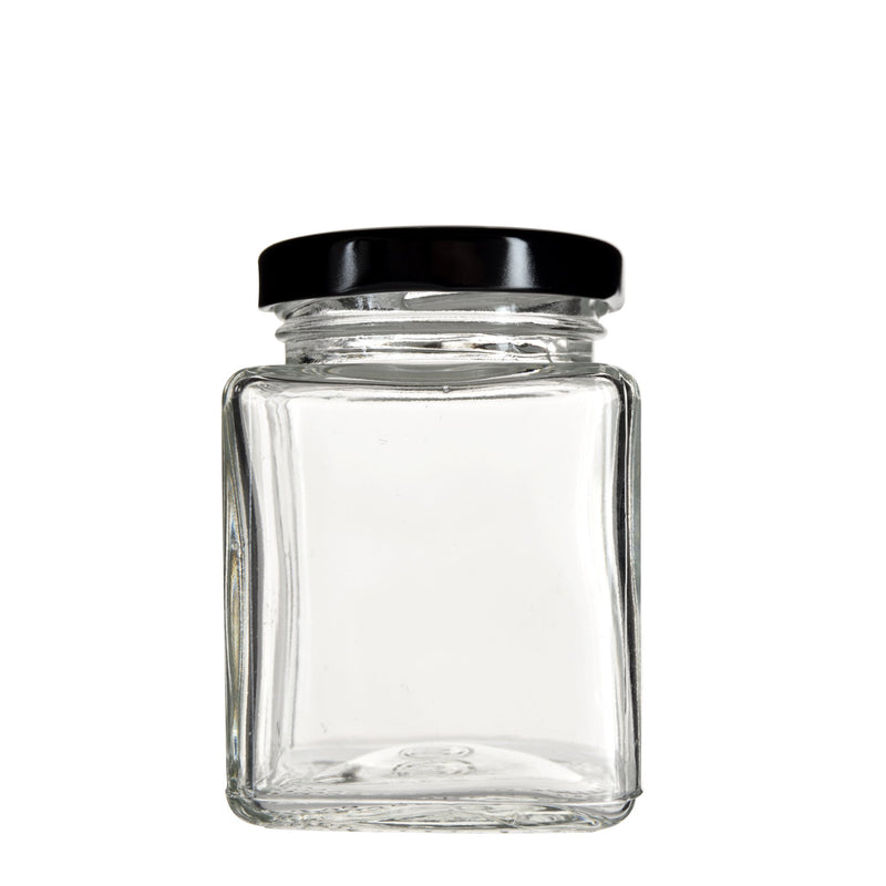 4oz Square Glass Jar 120 Count