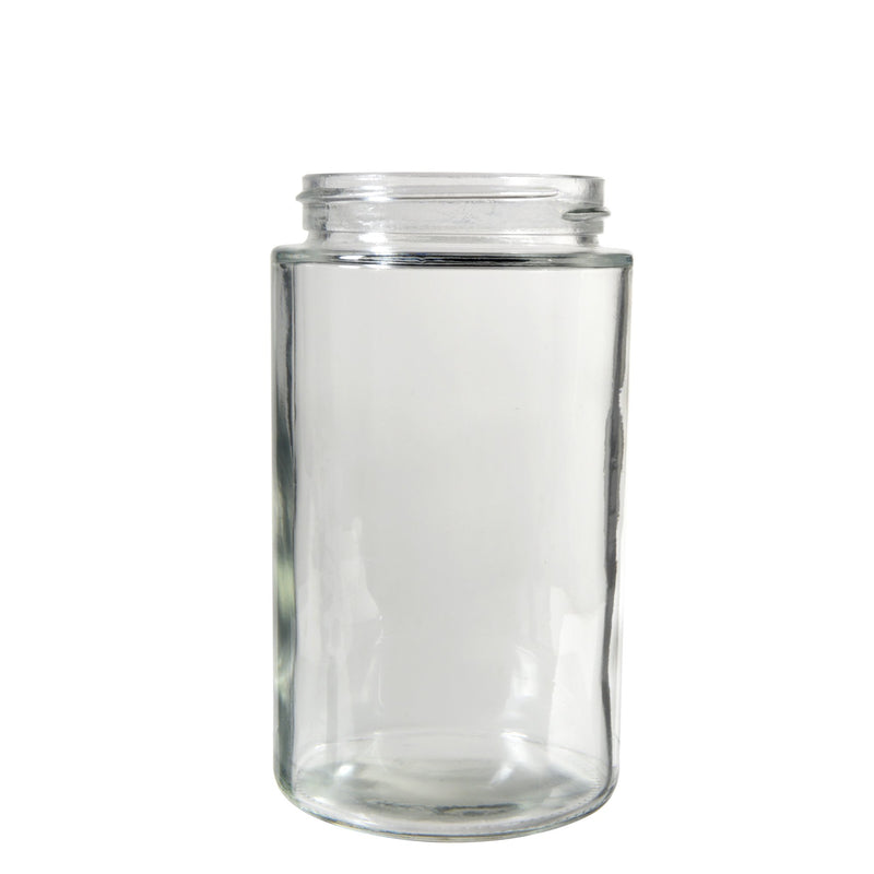 10oz Clear Glass Jars - 36 Count