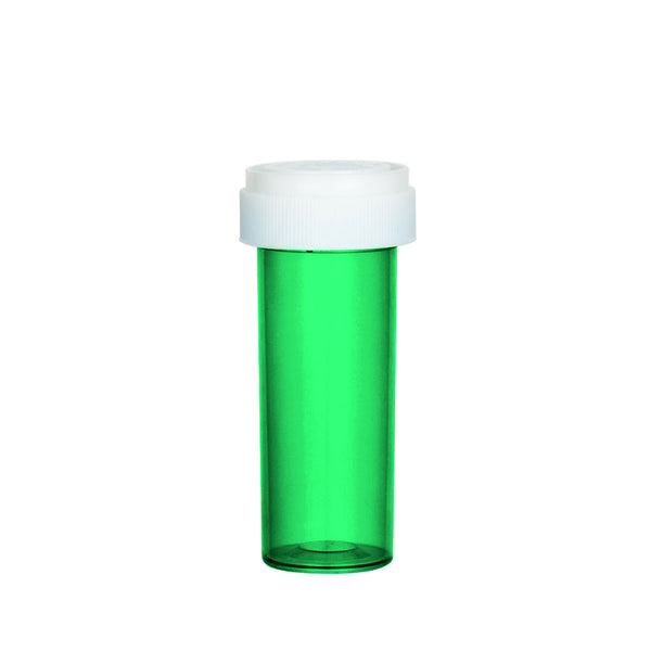 Green Reversible Cap Vial 16 Dram