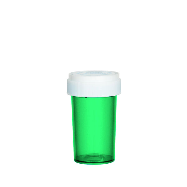 Green Reversible Cap Vial 20 Dram
