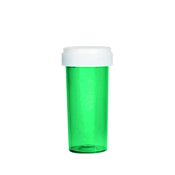 Green Reversible Cap Vial 30 Dram