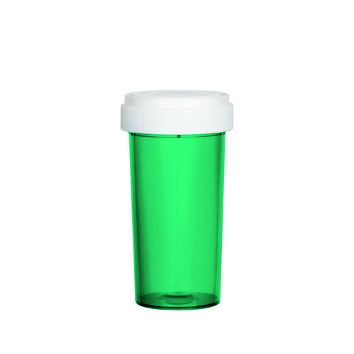 Green Reversible Cap Vial 40 Dram