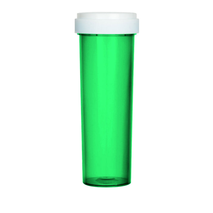 Green Reversible Cap Vial 60 Dram
