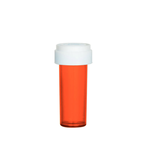 Red Reversible Cap Vial 08 Dram