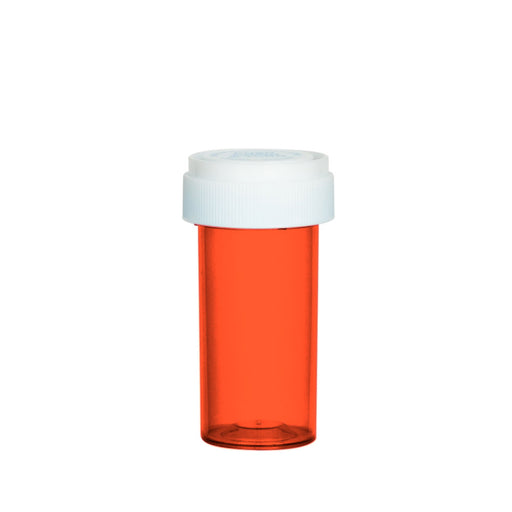 Red Reversible Cap Vial 13 Dram