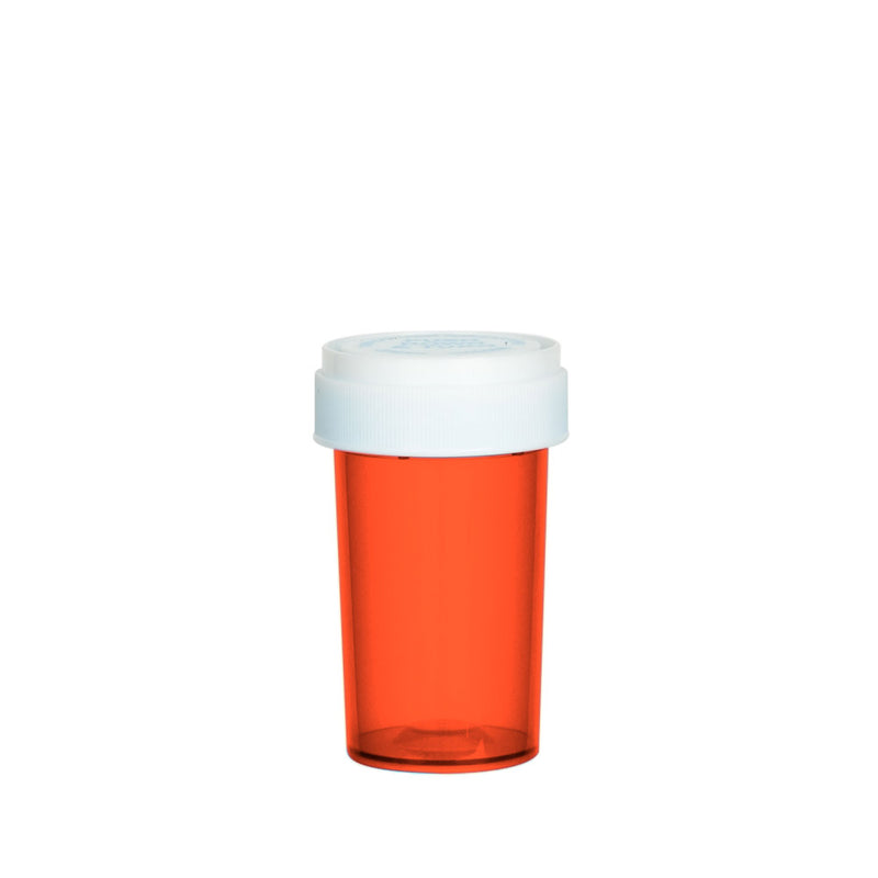 Red Reversible Cap Vial 20 Dram
