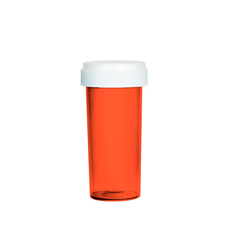 Red Reversible Cap Vial 30 Dram