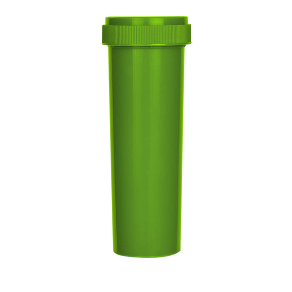 Solid Green Reversible Cap Vial 60 Dram