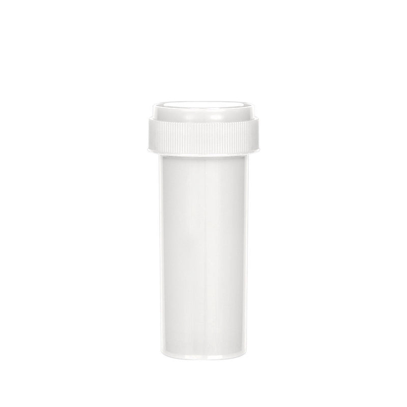 White Reversible Cap Vial 16 Dram