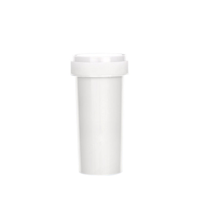 White Reversible Cap Vial 30 Dram