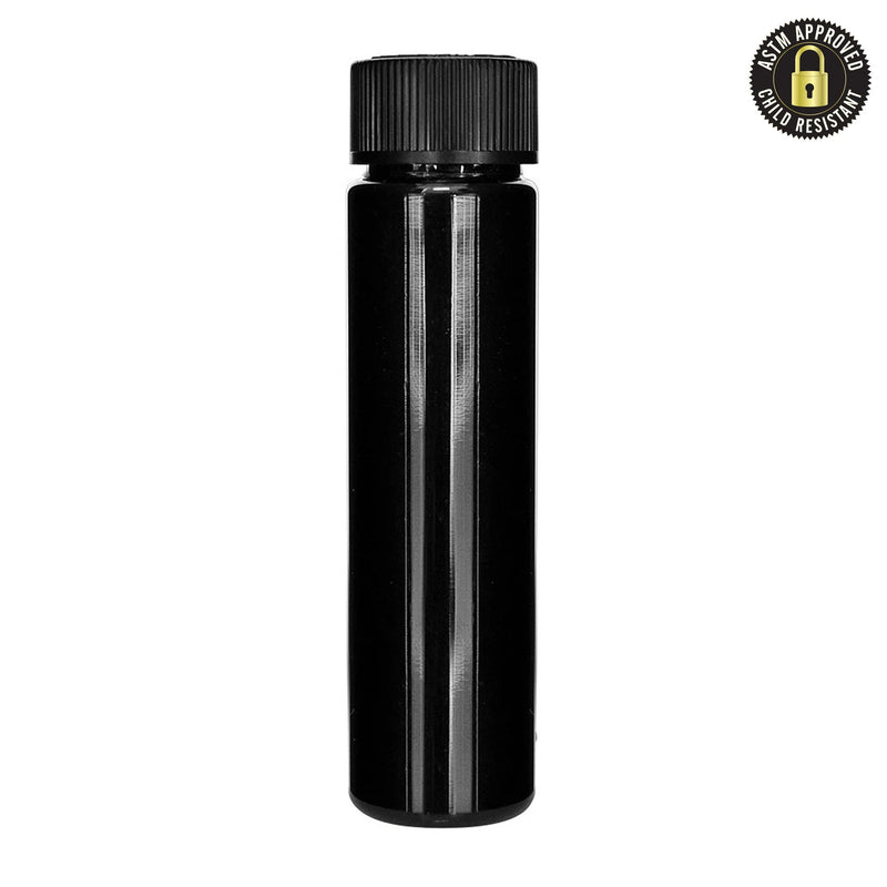Black Child Resistant Cartridge Container - 90mm - 500 Count