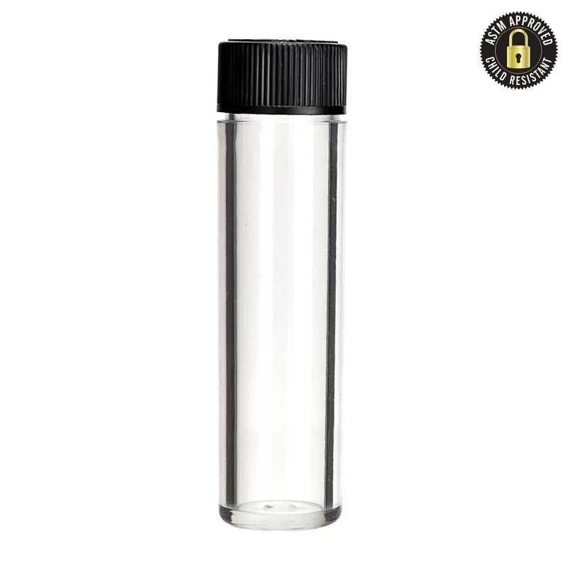 Child Resistant Vape Cartridge Container Clear 83.5mm - 500 Count