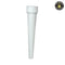 White Child Resistant Conical Tube 98mm - 850 Count