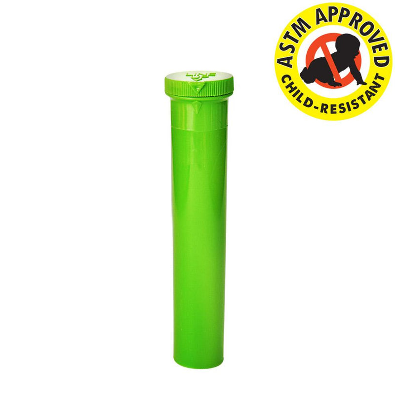 Green Child Resistant Joint Tubes - 94mm - 750 Count