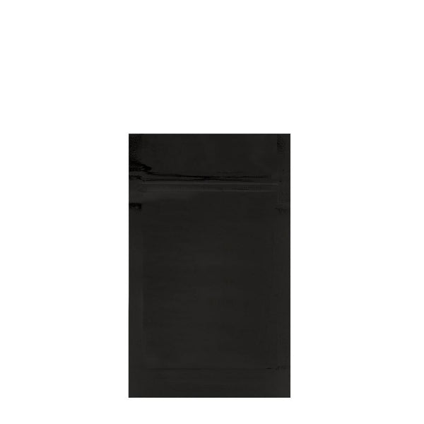 Mylar Bag Black 1/4 Ounce - 1,000 Count
