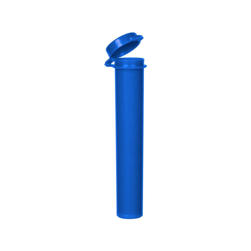 Opaque Blue Joint Tubes - 100 Count