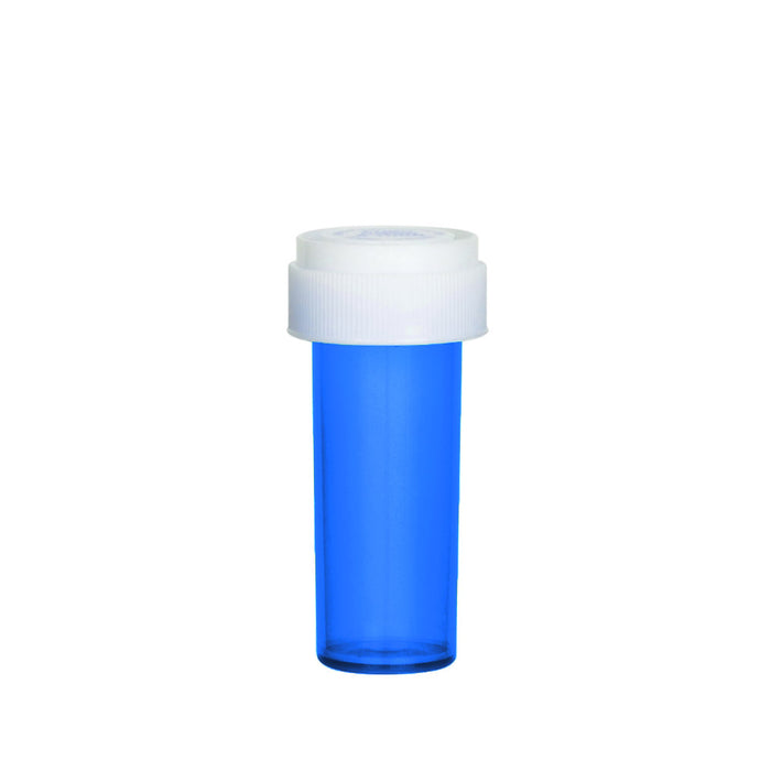 Blue Reversible Cap Vial 08 Dram