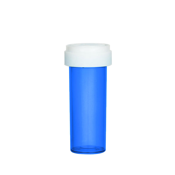 Blue Reversible Cap Vial 16 Dram