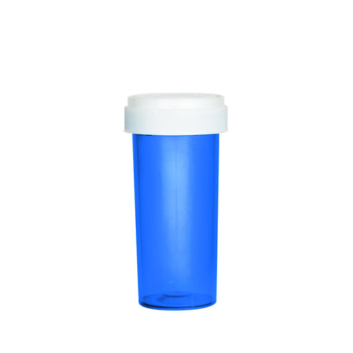 Blue Reversible Cap Vial 30 Dram
