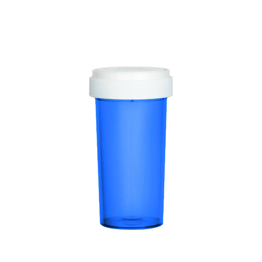 Blue Reversible Cap Vial 40 Dram
