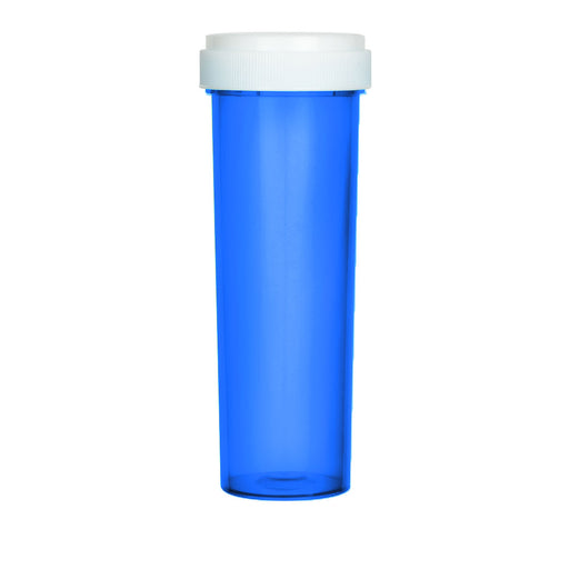 Blue Reversible Cap Vial 60 Dram