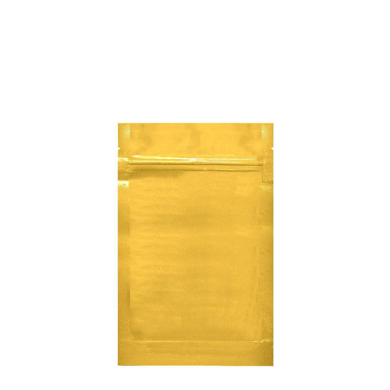 Mylar Bag Vista Gold 1/4 Ounce - Tear Notch