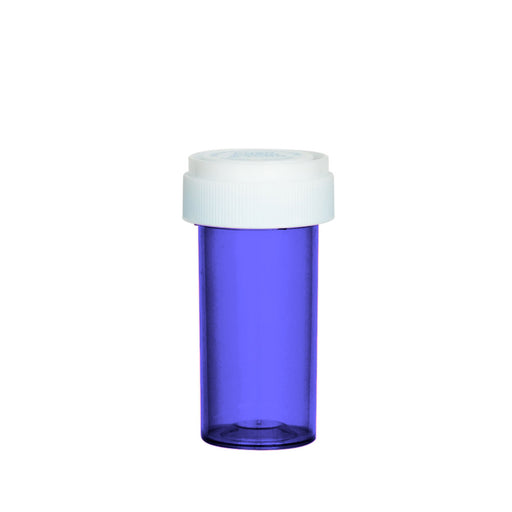 Purple Reversible Cap Vial 13 Dram