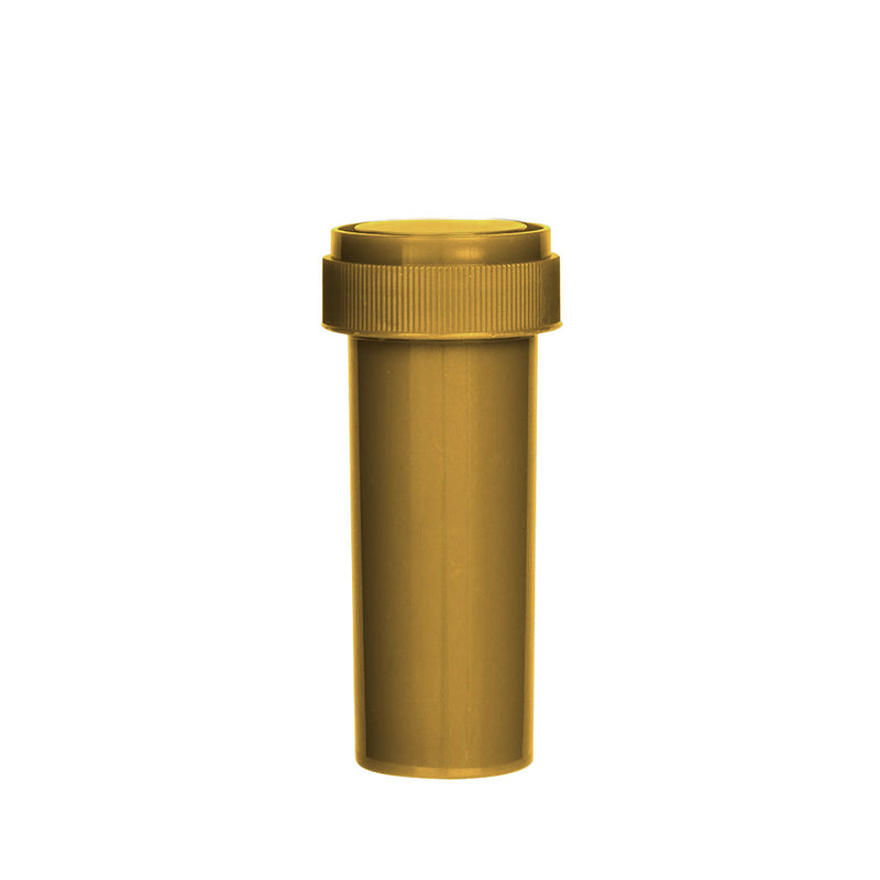 Gold Reversible Cap Vial 16 Dram