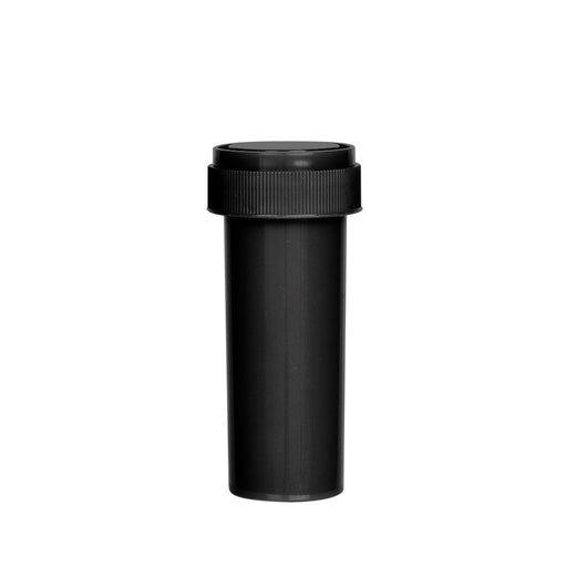 Black Reversible Cap Vial 16 Dram