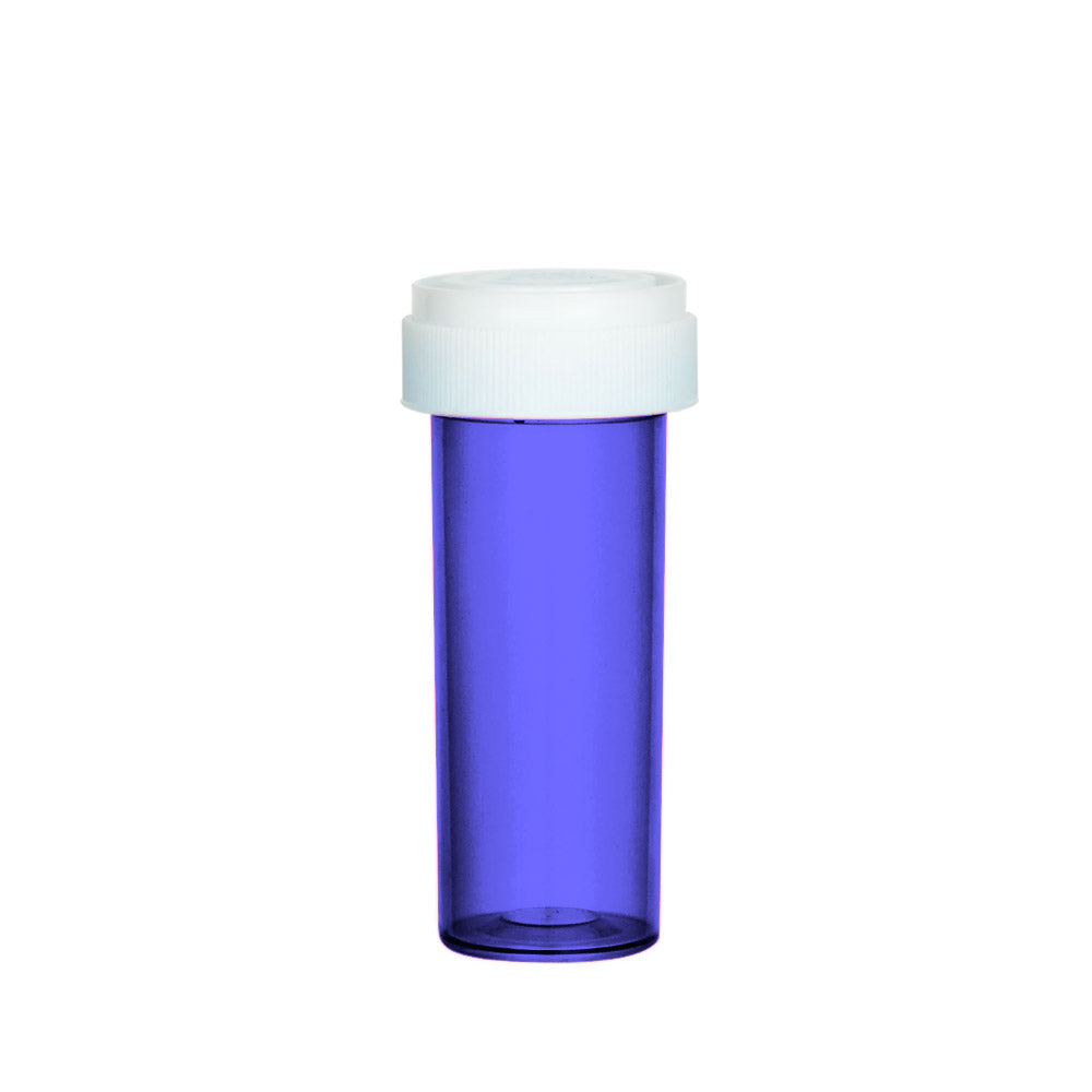 Purple Reversible Cap Vial 16 Dram