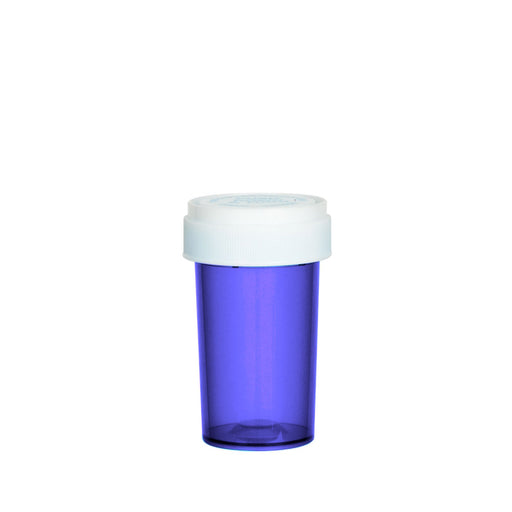 Purple Reversible Cap Vial 20 Dram
