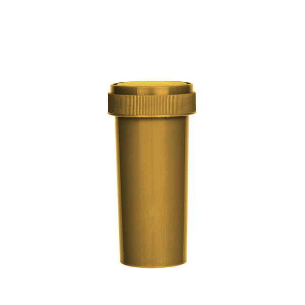 Gold Reversible Cap Vial 30 Dram
