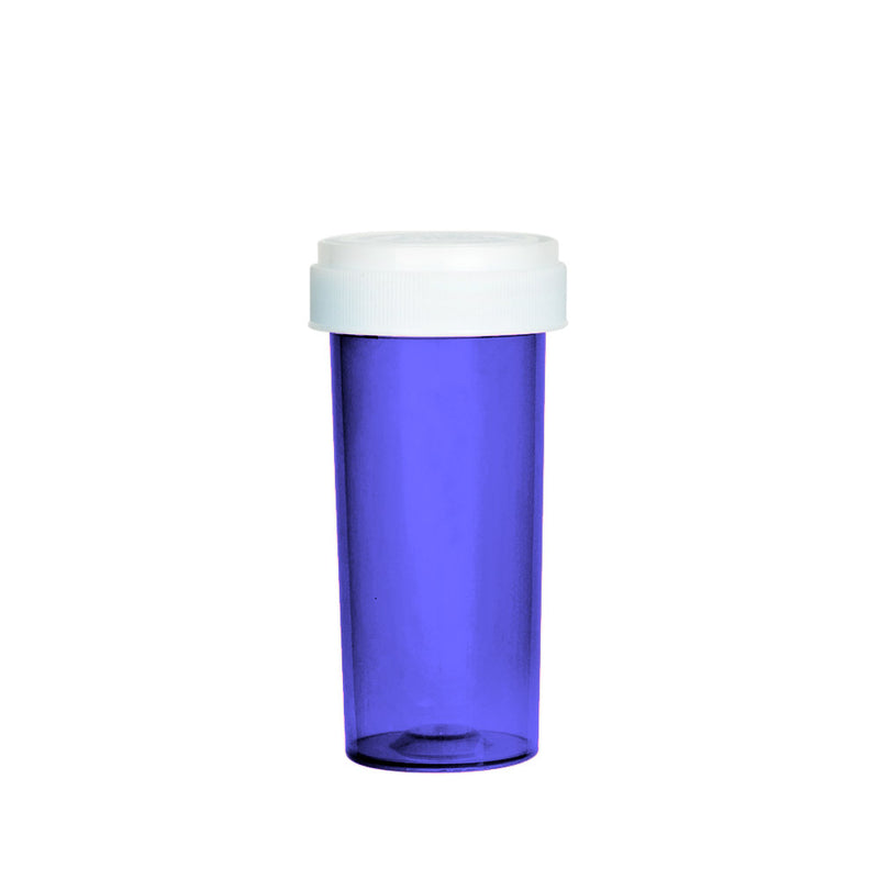 Purple Reversible Cap Vial 30 Dram