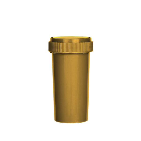 Gold Reversible Cap Vial 40 Dram