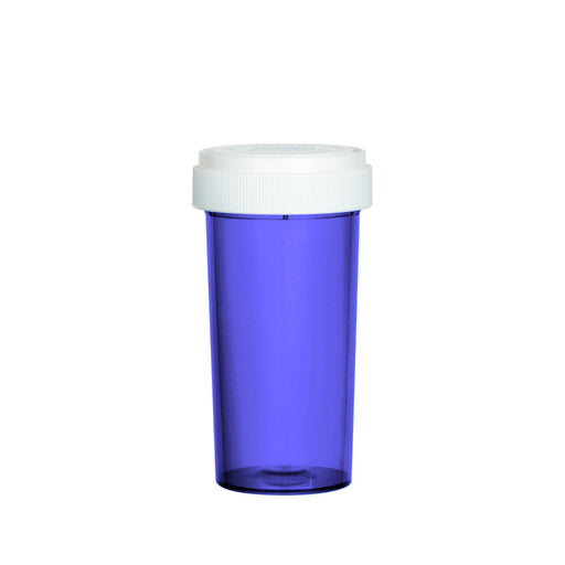 Purple Reversible Cap Vial 40 Dram