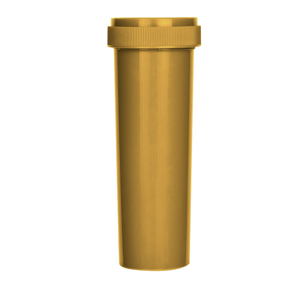Gold Reversible Cap Vial 60 Dram