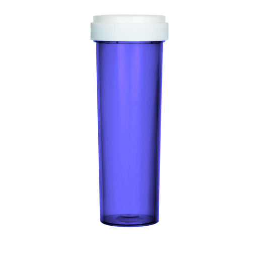 Purple Reversible Cap Vial 60 Dram