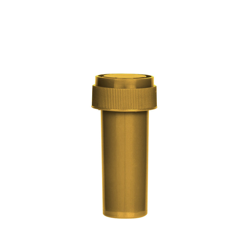 Gold Reversible Cap Vial 08 Dram