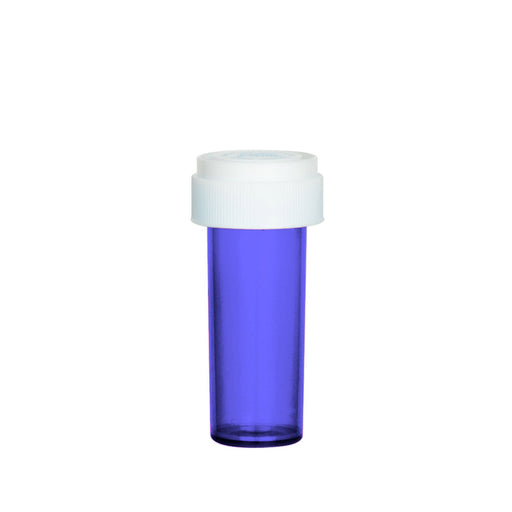 Purple Reversible Cap Vial 08 Dram