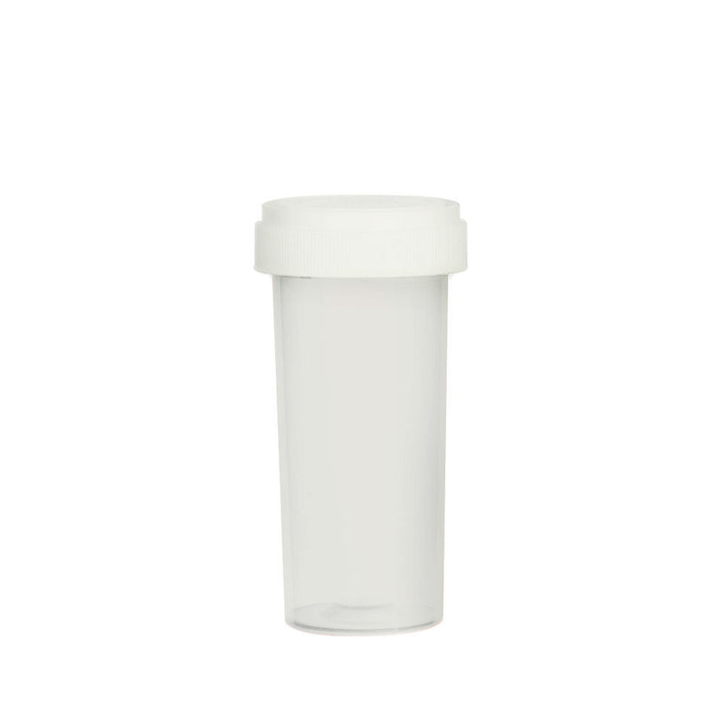 Clear Reversible Cap Vial 30 Dram