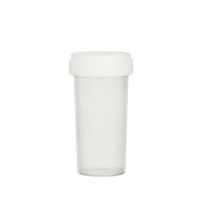 Clear Reversible Cap Vial 40 Dram