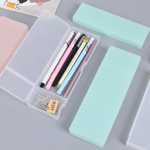 Simple transparent pencil case - Thallo Shop