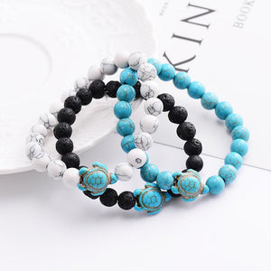 Sea Turtle Beads Bracelets - Thallo Shop