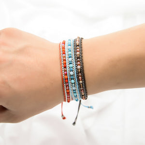 Bohemian Adjustable Bracelet - Thallo Shop