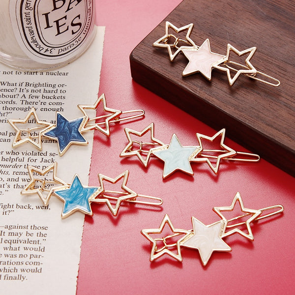 Cute Stars Hair Clip - Thallo Shop