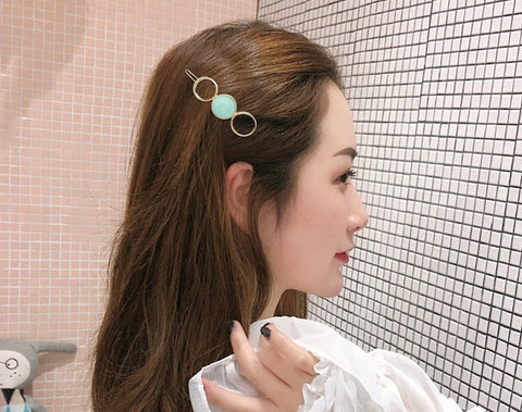 Cute Round Hair Clip - Thallo Shop
